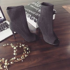 Wild Diva Lounge Heeled Ankle Bootie
